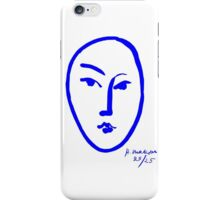 Face by Matisse iPhone Case/Skin
