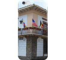 Flags on a Balcony iPhone Case/Skin
