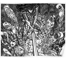 guts slaying spirits, berserk Poster