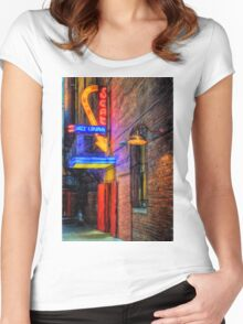 Fort Worth Impressions Scat Lounge Women's Fitted Scoop T-Shirt