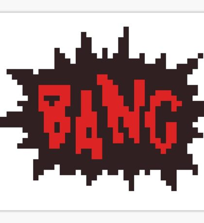 comic book bang  Sticker