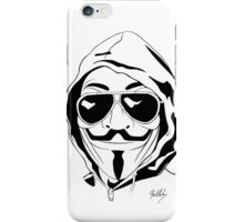 Vendetta Shades Logo iPhone Case/Skin
