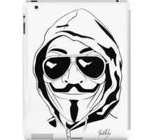 Vendetta Shades Logo iPad Case/Skin