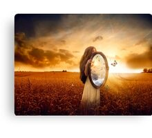 Butterfly Whispers Canvas Print