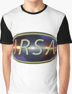 Infrared Science Archive (IRSA) Logo Graphic T-Shirt