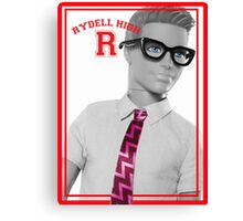 KEN DOLL WENT TO RYDELL HIGH (GREASE) Canvas Print