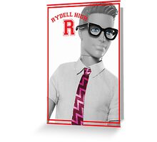 KEN DOLL WENT TO RYDELL HIGH (GREASE) Greeting Card