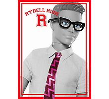 KEN DOLL WENT TO RYDELL HIGH (GREASE) Photographic Print