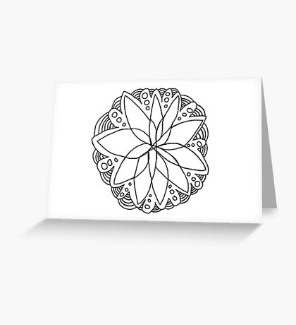Wild lotus bubbles  Greeting Card