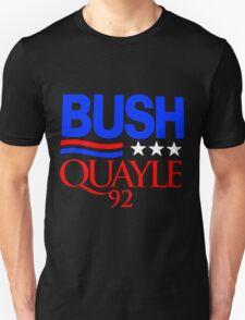 BUSH/QUAYLE '92 T-Shirt