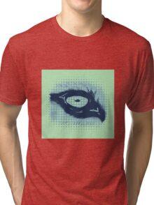 Mc Wolfie Stippled Tri-blend T-Shirt