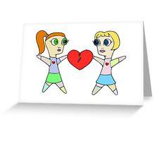 Voodoo Love (F/F) Greeting Card