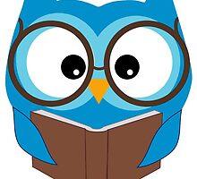Reading Owl by owlsfan100