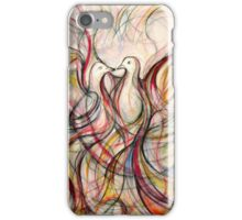 Two Doves (Messengers of Love) iPhone Case/Skin