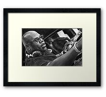 Carl Cox Pencil Drawing Framed Print