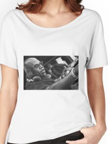 Carl Cox Pencil Drawing Women's Relaxed Fit T-Shirt