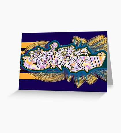 Graffiti SICK Greeting Card