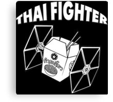 THAI FIGHTER FOOD ATTACK STAR WARS Canvas Print