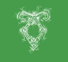 Graceful Angelic Rune- Inverted Kids Clothes
