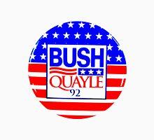 BUSH/QUAYLE '92 (2) Womens Fitted T-Shirt