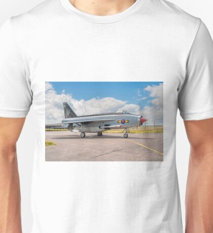 English Electric Lightning F.6 XR753/XI Unisex T-Shirt