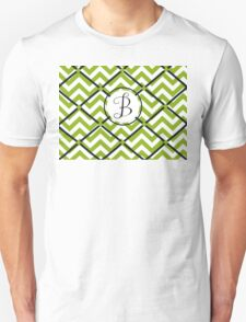 Awesome Chevron B Unisex T-Shirt