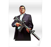 GTA - GTA 5 - Michael Poster