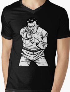 punk shooting range target Mens V-Neck T-Shirt
