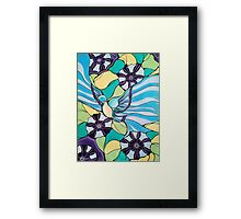 Joy Luck Bluebird Framed Print