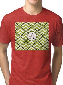 Awesome Chevron A Tri-blend T-Shirt