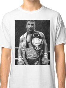 Mike Tyson Pencil Drawing Classic T-Shirt