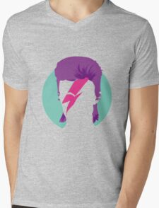 Bowie Mens V-Neck T-Shirt