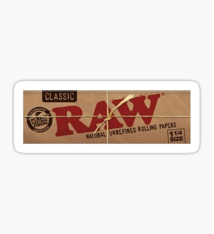 Raw Rolling Papers  Sticker