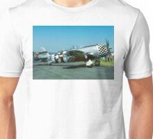 "P-47D Thunderbolt 45-49192 G-THUN ""No Guts no Glory"" Unisex T-Shirt"