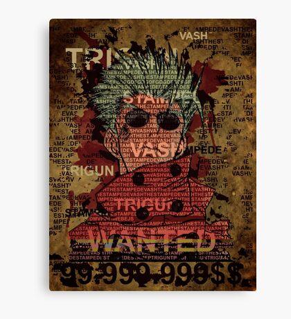 Trigun Vash the stampede Canvas Print