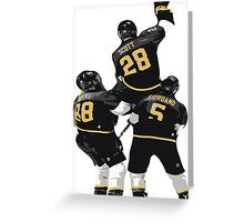 John Scott NHL All Star Game MVP 2016  Greeting Card
