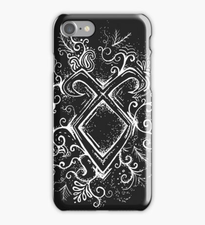 Angelic Rune Mandala- Inverted iPhone Case/Skin