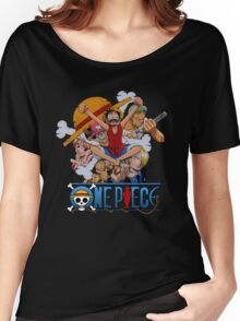 Luffi and Friends - One Piece Women's Relaxed Fit T-Shirt