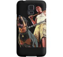 GTA - GTA 5 - Franklin and Chop Samsung Galaxy Case/Skin