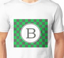 B Checkered II Unisex T-Shirt