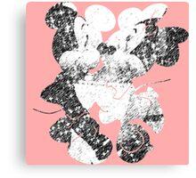 Minnie & Mickey Canvas Print