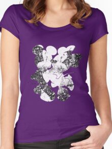 Minnie & Mickey Women's Fitted Scoop T-Shirt