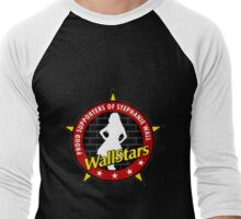 New RED WALLSTAR Men's Baseball ¾ T-Shirt