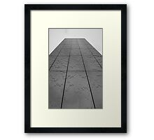 torchwood water tower Framed Print