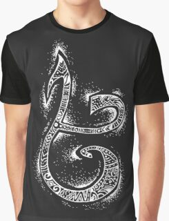 Strength Rune- Inverted Graphic T-Shirt