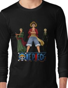 Luffi Zoro Sanji - One Piece Long Sleeve T-Shirt
