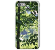 Shining Through the Leaves  iPhone Case/Skin