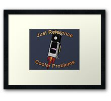 Graphics Card reference cooler problems Framed Print