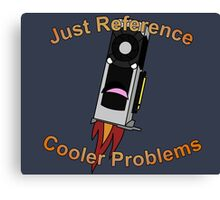 Graphics Card reference cooler problems Canvas Print