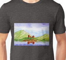 scenic scottish castle Unisex T-Shirt